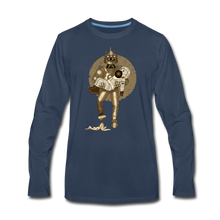 Load image into Gallery viewer, Rantdog & Robot - Men's Premium Long Sleeve T-Shirt - navy