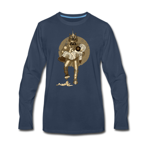 Rantdog & Robot - Men's Premium Long Sleeve T-Shirt - navy