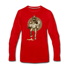 Load image into Gallery viewer, Rantdog & Robot - Men's Premium Long Sleeve T-Shirt - red