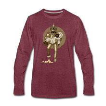 Load image into Gallery viewer, Rantdog & Robot - Men's Premium Long Sleeve T-Shirt - heather burgundy