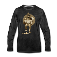 Load image into Gallery viewer, Rantdog & Robot - Men's Premium Long Sleeve T-Shirt - charcoal gray