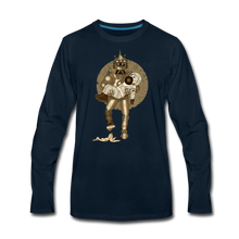 Load image into Gallery viewer, Rantdog & Robot - Men's Premium Long Sleeve T-Shirt - deep navy