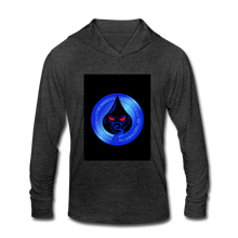 Load image into Gallery viewer, Cute Oil NOT - Unisex Tri-Blend Hoodie Shirt - heather black