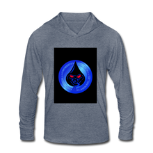 Load image into Gallery viewer, Cute Oil NOT - Unisex Tri-Blend Hoodie Shirt - heather blue