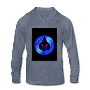 Cute Oil NOT - Unisex Tri-Blend Hoodie Shirt - heather blue