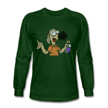 Load image into Gallery viewer, Grafiti Rantdog - Men's Long Sleeve T-Shirt - forest green