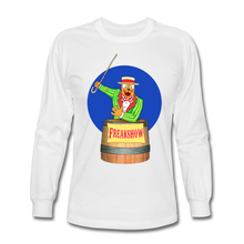 Load image into Gallery viewer, Twitch Carnival Barker - Men's Long Sleeve T-Shirt - white