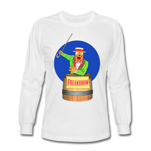 Twitch Carnival Barker - Men's Long Sleeve T-Shirt - white