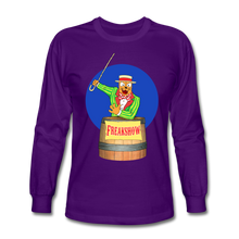 Load image into Gallery viewer, Twitch Carnival Barker - Men's Long Sleeve T-Shirt - purple