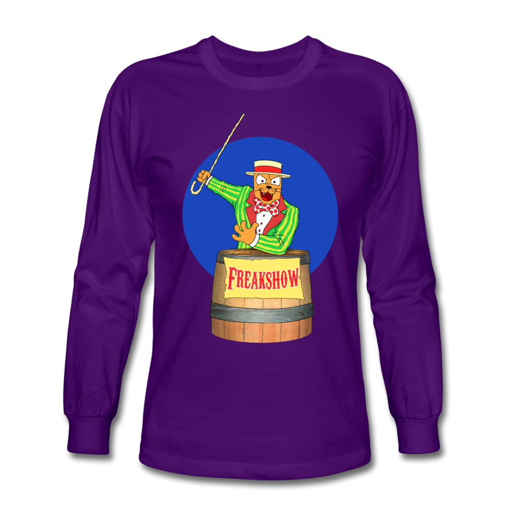 Twitch Carnival Barker - Men's Long Sleeve T-Shirt - purple