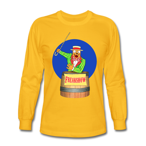 Twitch Carnival Barker - Men's Long Sleeve T-Shirt - gold