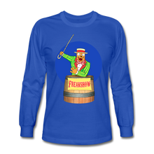 Load image into Gallery viewer, Twitch Carnival Barker - Men's Long Sleeve T-Shirt - royal blue