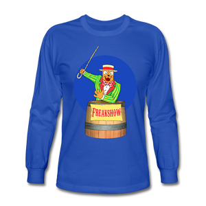 Twitch Carnival Barker - Men's Long Sleeve T-Shirt - royal blue