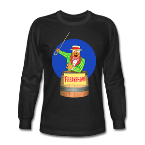 Twitch Carnival Barker - Men's Long Sleeve T-Shirt - black