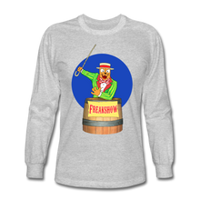 Load image into Gallery viewer, Twitch Carnival Barker - Men's Long Sleeve T-Shirt - heather gray