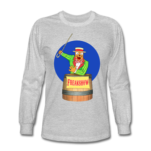 Twitch Carnival Barker - Men's Long Sleeve T-Shirt - heather gray