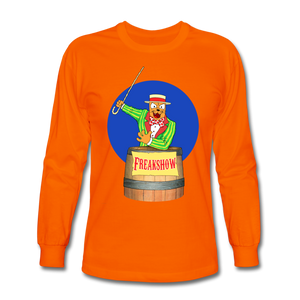 Twitch Carnival Barker - Men's Long Sleeve T-Shirt - orange