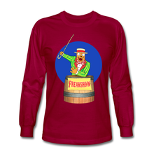 Load image into Gallery viewer, Twitch Carnival Barker - Men's Long Sleeve T-Shirt - dark red