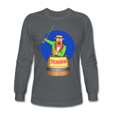 Load image into Gallery viewer, Twitch Carnival Barker - Men's Long Sleeve T-Shirt - charcoal