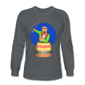 Twitch Carnival Barker - Men's Long Sleeve T-Shirt - charcoal