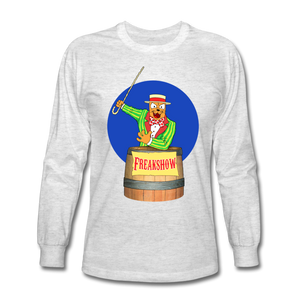 Twitch Carnival Barker - Men's Long Sleeve T-Shirt - light heather gray