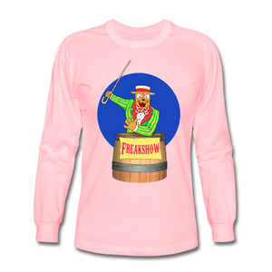 Twitch Carnival Barker - Men's Long Sleeve T-Shirt - pink