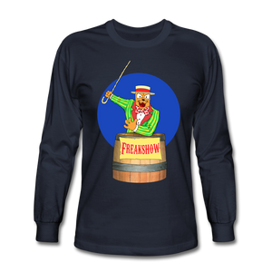 Twitch Carnival Barker - Men's Long Sleeve T-Shirt - navy