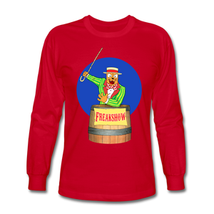 Twitch Carnival Barker - Men's Long Sleeve T-Shirt - red