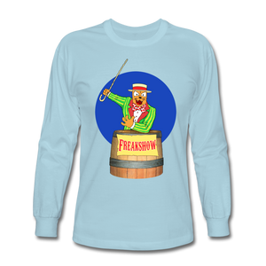 Twitch Carnival Barker - Men's Long Sleeve T-Shirt - powder blue