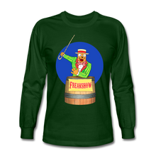 Load image into Gallery viewer, Twitch Carnival Barker - Men's Long Sleeve T-Shirt - forest green
