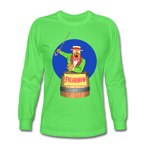 Twitch Carnival Barker - Men's Long Sleeve T-Shirt - kiwi