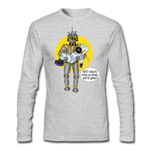 Load image into Gallery viewer, Rantdog & Robot - Men's Long Sleeve T-Shirt by Next Level - heather gray