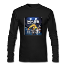 Load image into Gallery viewer, Mass Defect - Men's Long Sleeve T-Shirt by Next Level - black
