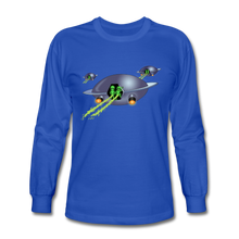 Load image into Gallery viewer, Alien Pee - Men's Long Sleeve T-Shirt - royal blue