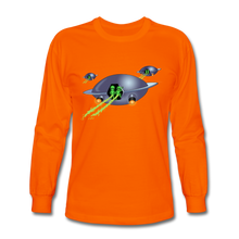 Load image into Gallery viewer, Alien Pee - Men's Long Sleeve T-Shirt - orange