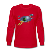 Load image into Gallery viewer, Alien Pee - Men's Long Sleeve T-Shirt - red