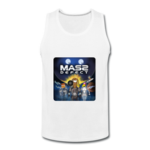 Load image into Gallery viewer, Mass Defect - Men's Premium Tank - white