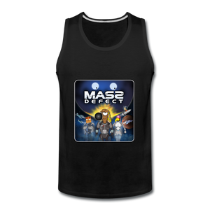 Mass Defect - Men's Premium Tank - black