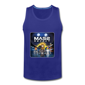 Mass Defect - Men's Premium Tank - royal blue
