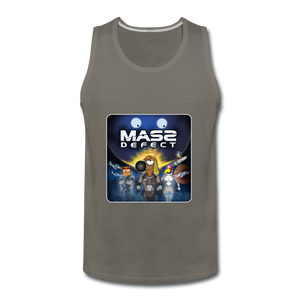 Mass Defect - Men's Premium Tank - asphalt gray
