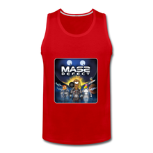Load image into Gallery viewer, Mass Defect - Men's Premium Tank - red