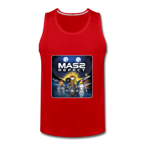 Mass Defect - Men's Premium Tank - red