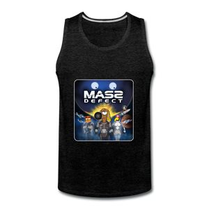 Mass Defect - Men's Premium Tank - charcoal gray