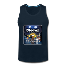 Load image into Gallery viewer, Mass Defect - Men's Premium Tank - deep navy