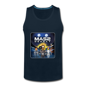 Mass Defect - Men's Premium Tank - deep navy