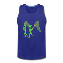 Load image into Gallery viewer, Space Alien Hunting - Men's Premium Tank - royal blue