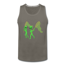 Load image into Gallery viewer, Space Alien Hunting - Men's Premium Tank - asphalt gray