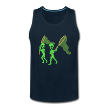 Load image into Gallery viewer, Space Alien Hunting - Men's Premium Tank - deep navy