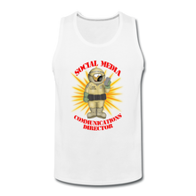 Load image into Gallery viewer, Toxic Social Media - Men's Premium Tank - white