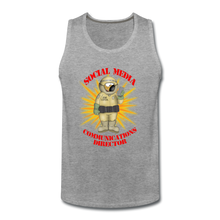 Load image into Gallery viewer, Toxic Social Media - Men's Premium Tank - heather gray